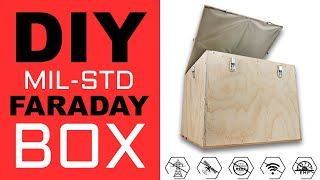 Homemade MIL-STD Faraday Cage for EMP Prepping, Signal Blocking, and EMF Health