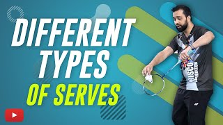 Become a Better Badminton Player – Different Types of Serves – Abhishek Ahlawat