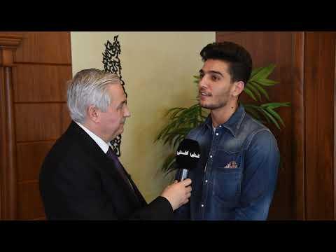 بالفيديو: الفنان محمد عساف يهنئ بشهر رمضان المبارك