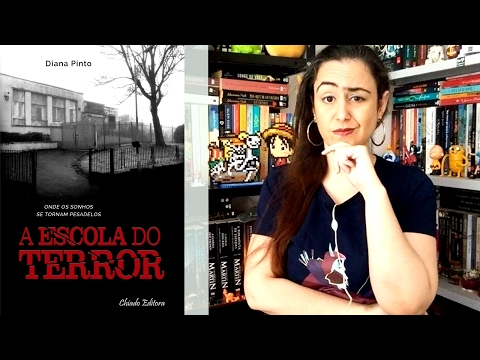 A Escola do Terror de Diana Pinto (Book Review) | Thaisa Lima
