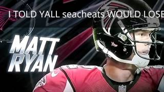 SEATTLE SEAHAWKS DISS ATL FALCONS BEAT THEM SEAGIRLS TALK NOW SEATTLE
