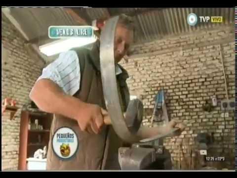 Discos de arado artesanales