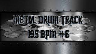 Super Aggressive Metal Drum Track 195 BPM | Preset 3.0 (HQ,HD)