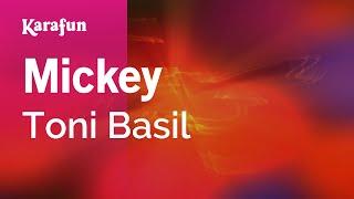 Karaoke Mickey - Toni Basil *