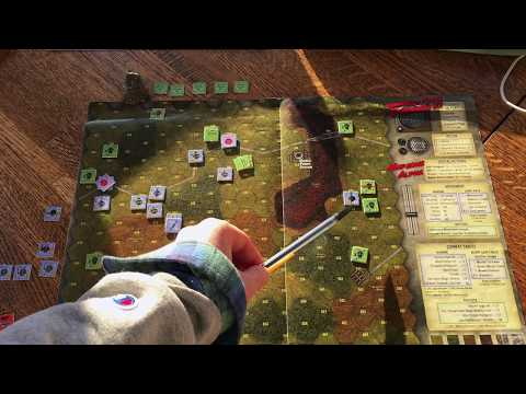 conclusion to game (with commentary from designer Hermann Luttmann)