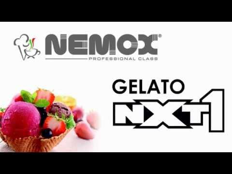 Мороженица Nemox NXT 1 L'Automatica Silver (серебристо-серая)