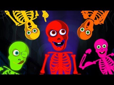10 Looney Skeletons Dancing   Funny Skeleton Dance   Midnight Adventures   Hoopla Halloween