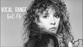 Stevie Nicks Vocal Range