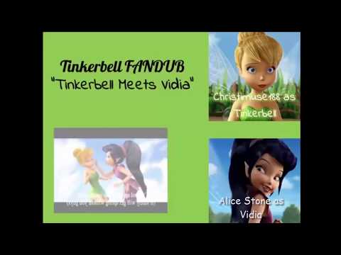 TInkerbell Meets Vidia (Collab w/Christimuse 188)