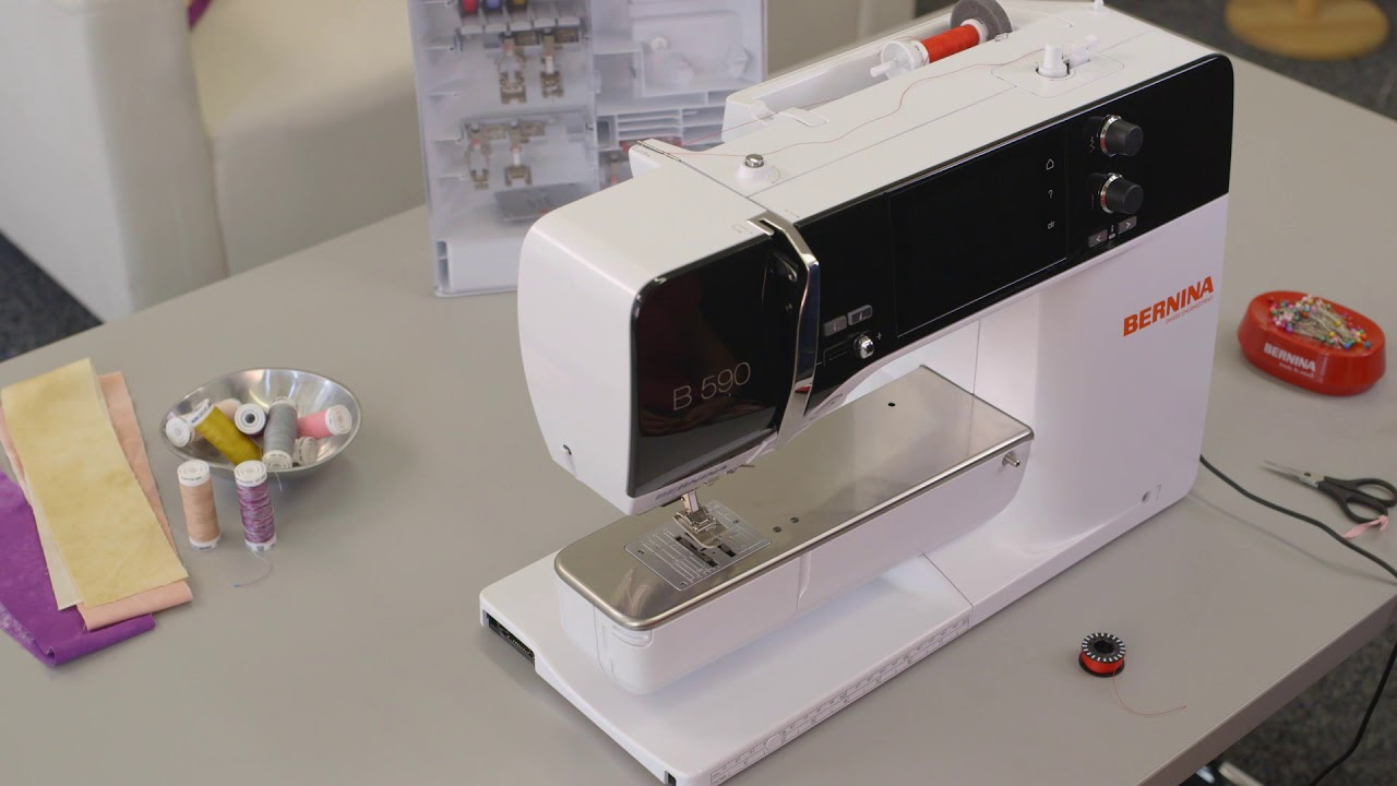 Sewing tutorial: first steps with the B 590