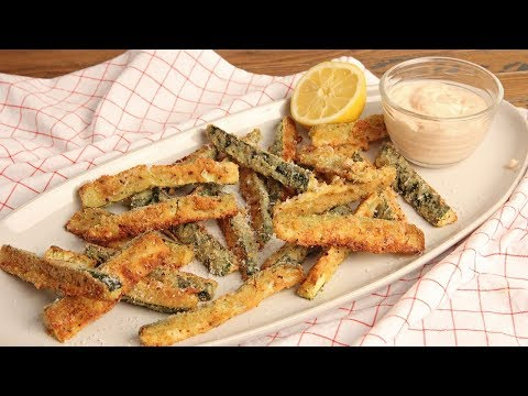 Zucchini Fries with Special Sauce (Low Carb) | Episode 1245