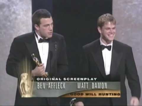 Ben Affleck and Matt Damon Win Original Screenplay: 1997 Oscars