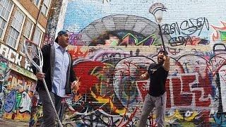 2 Walls Lacrosse H.O.R.S.E | Paul Rabil's GoPro
