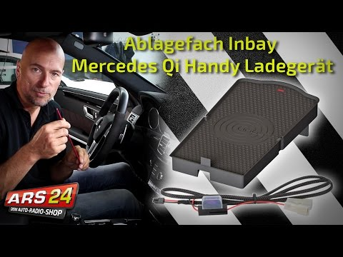 Inbay - induktive Ladung im Mercedes
