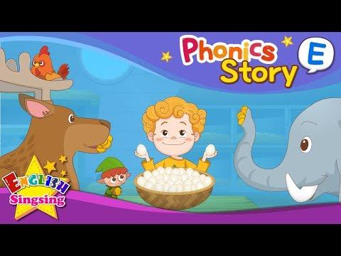 Phonics Story E