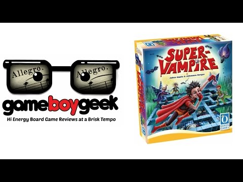 The Game Boy Geek's (Allegro  2-min) Review of Super Vampire