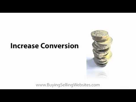 Website Flipping Tip: Increase Your Site's Conversion Rate