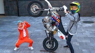МЕЛКИЙ надоел уже... Обзор моего ТОПОВОГО Pit-Bike!!!