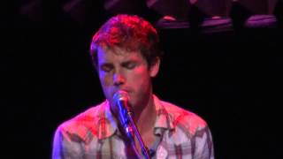 Jon McLaughlin - Doesn't Mean Goodbye - Holding My Breath Tour in NYC 2013