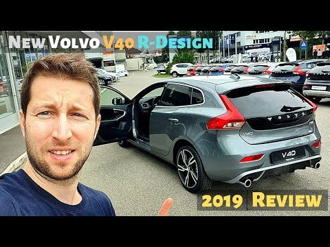New Volvo V40 R-Design 2019 Review Interior Exterior