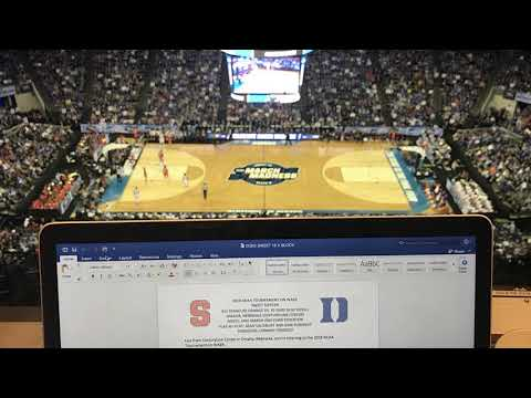 Interview with CBS Broadcaster Bill Raftery