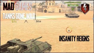 Mad Games Highlight Games & Funny Moments World of Tanks BLitz