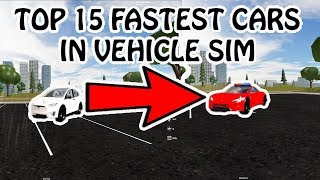 vehicle simulator roblox best car to buy - TH-Clip