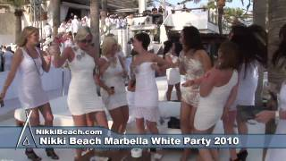 Nikki Beach Marbella White Party 2010