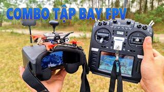 Lần Đầu Bay Thử FPV Racing Drone Mini - Combo Tập Chơi FPV Racing Emax Tinyhawk II Freestyle
