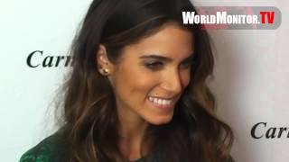 Celebrity Arrivals at Carmen Steffens luxury Brazilian brand U.S. Flagship Grand Opening