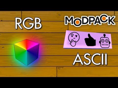 Modpack ASCII & RGB Blocks | Scrap Mechanic Mods