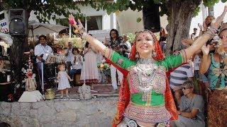 Spanish dancer performs to a Rajasthani song - Maati Baani