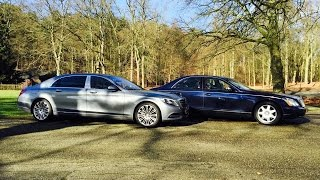 Mercedes-Maybach S600 Vs. Maybach 57 - By Autovisie TV
