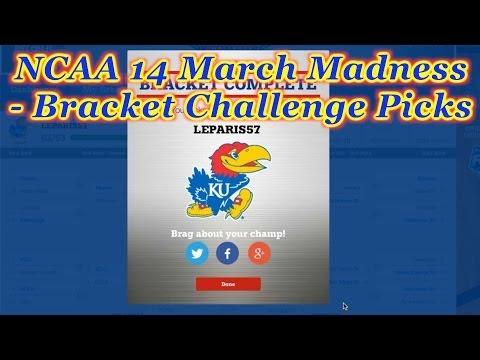 NCAA Basketball 2014 March Madness - Bracket Challenge Picks