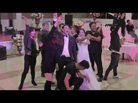 The Coolest Bride - Angela Khuma | MDC Team Wedding Dance | Radha & Bang Bang Bang