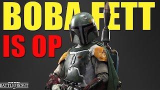 Boba Fett is OP - Star Wars Battlefront - 62 Kill Streak