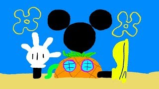 Mickey Mouse Clubhouse SpongeBob SquarePants' House - Disney Junior Doodle