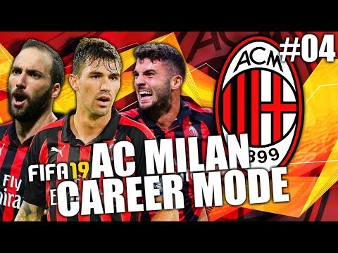 FIFA 19 | AC MILAN CAREER MODE | #04 | EUROPA LEAGUE BEGINS!
