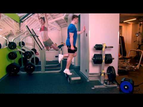 Ćwiczenia mięśni na trampolinie