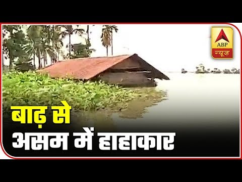 Kaziranga National Park Gets Submerged In Flood Water In Assam | ABP News