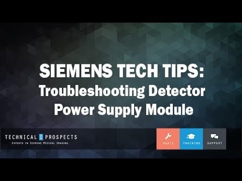 Troubleshooting Detector Power Supply Module