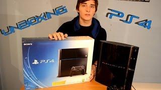 Český Unboxing | PlayStation 4 | Základní balení