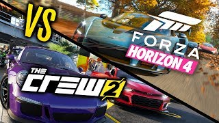 Forza Horizon 4 VS The Crew 2 - WHICH IS BEST?! - dooclip.me