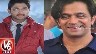 Actor Arjun As Allu Arjun's Father in Naa Peru Surya Naa Illu India