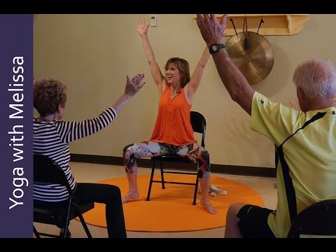 Yoga with Melissa 378 - Chair Yoga Class with Sherry Zak Morris - Sharing the Sunny Side of Life