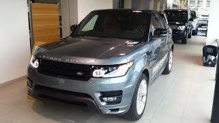 Land Rover Range Rover Sport 2015 In Depth Review Interior Exterior