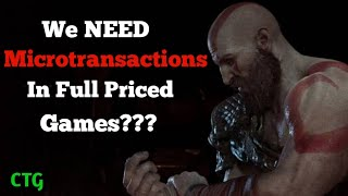We NEED Microtransactions in Full Priced Games???