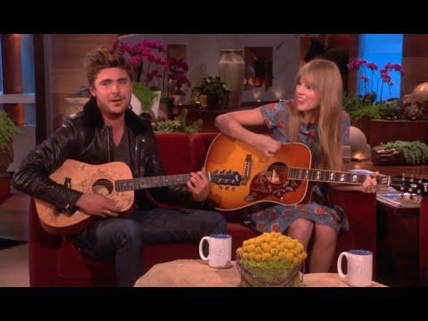 Zac Efron a Taylor Swift - Duet u Ellen