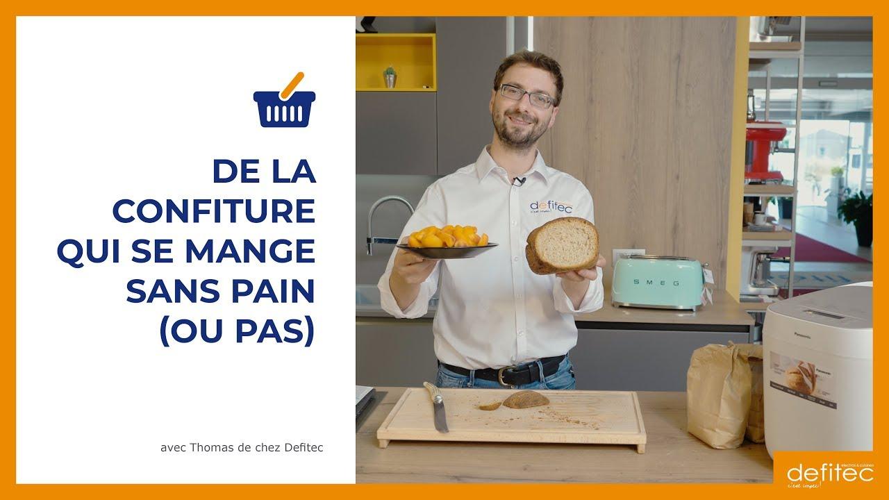 Faire sa confiture et du pain maison comme à la boulangerie avec une machine à pain Panasonic