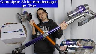 Günstiger Akku-Staubsauger Laresar Elite 1 im Test / Ob dieser auch mit einen Dyson mithalten kann?